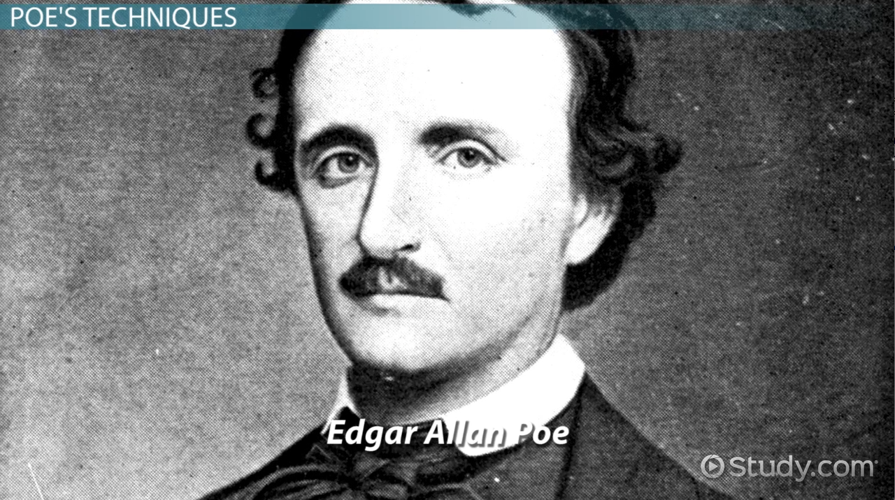 a literary analysis of the poetry of edgar allan poe Title: length color rating : analysis of edgar allan poe's the raven essay - analysis of edgar allan poe's the raven edgar allan poe's the raven, though parodied, republished, and altered countless times, has withstood the test of time as one of the most recognizable and famous works of poetry in the english language.