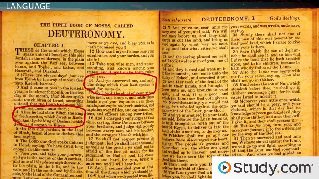 The Bible As Literary Influence References And Allusion Video