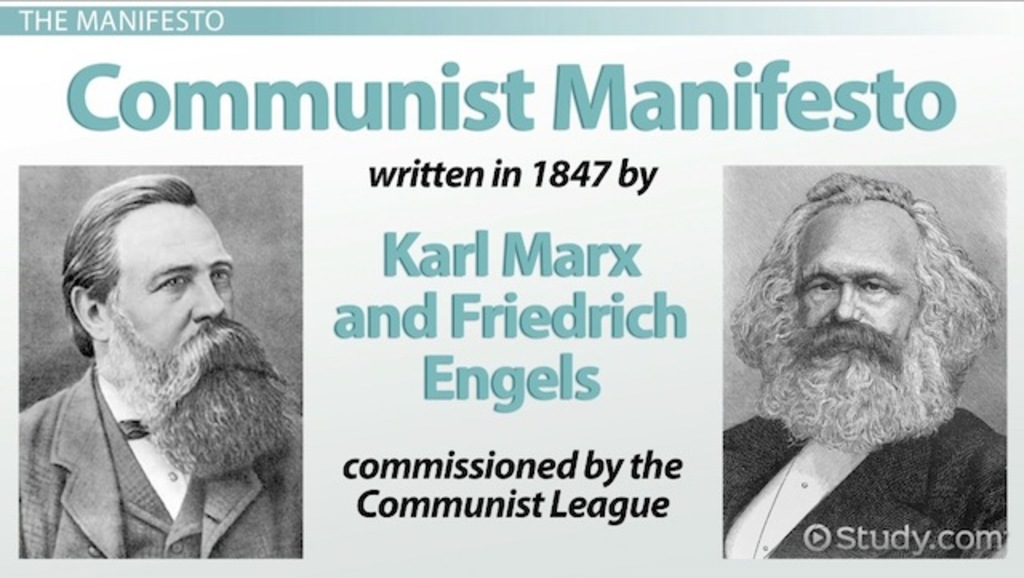 thesis of marxs communist mannifesto While the communist manifesto is more of a précis than a substantive thesis (for  that, see the various volumes of marx's capital), its concise,.