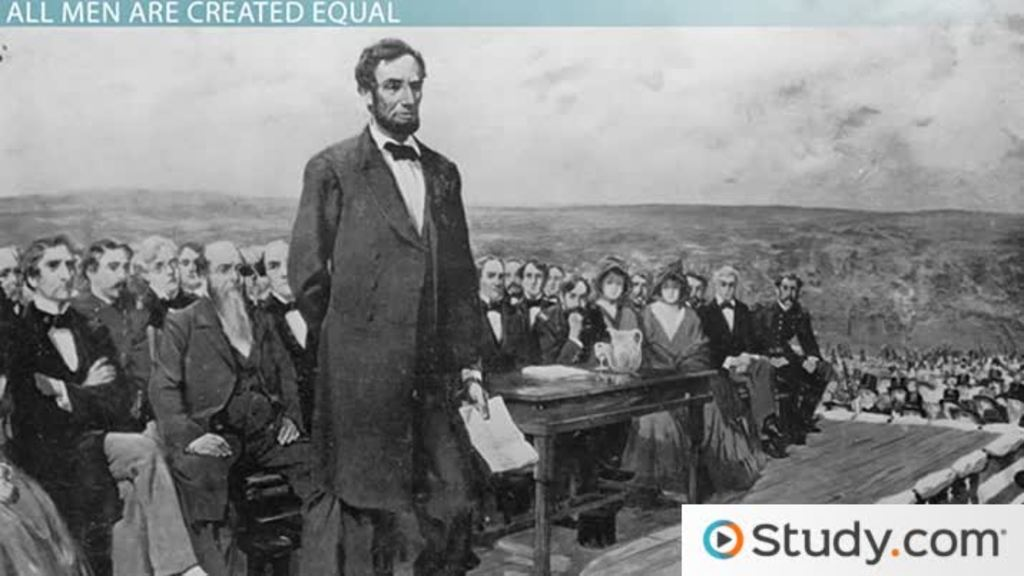 gettysburg address summary analysis video lesson transcript  gettysburg address summary analysis video lesson transcript com