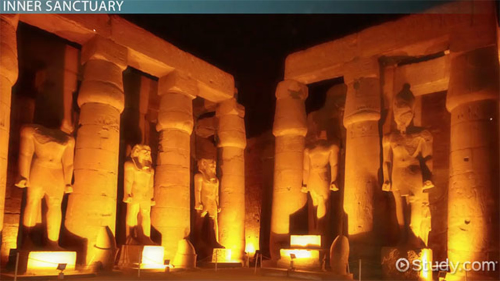 The Luxor Temple in Egypt Facts Overview Video Lesson