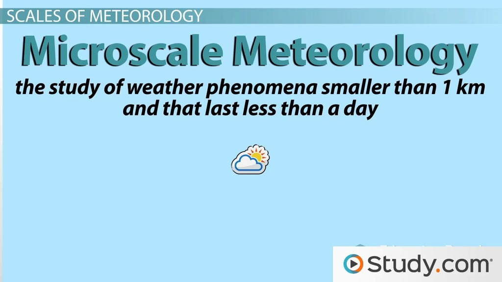 The Scientific Field of Meteorology - Video & Lesson Transcript | Study.com
