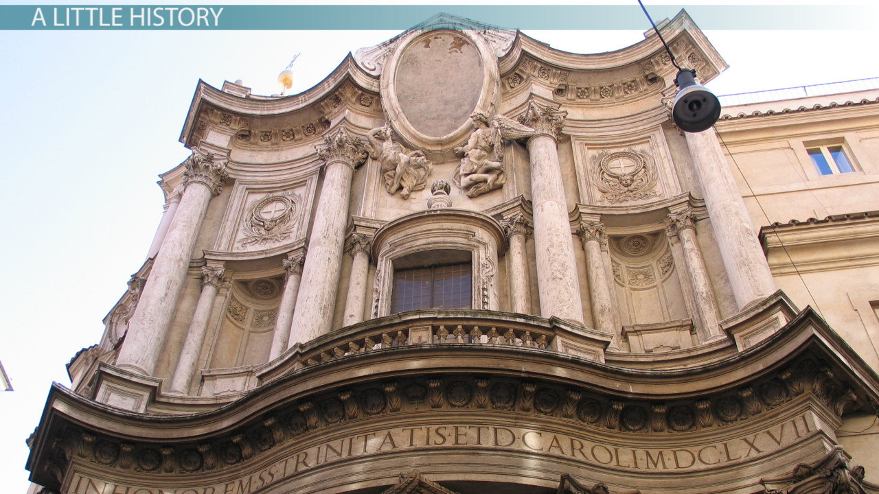 baroque architecture: style, characteristics & features - video
