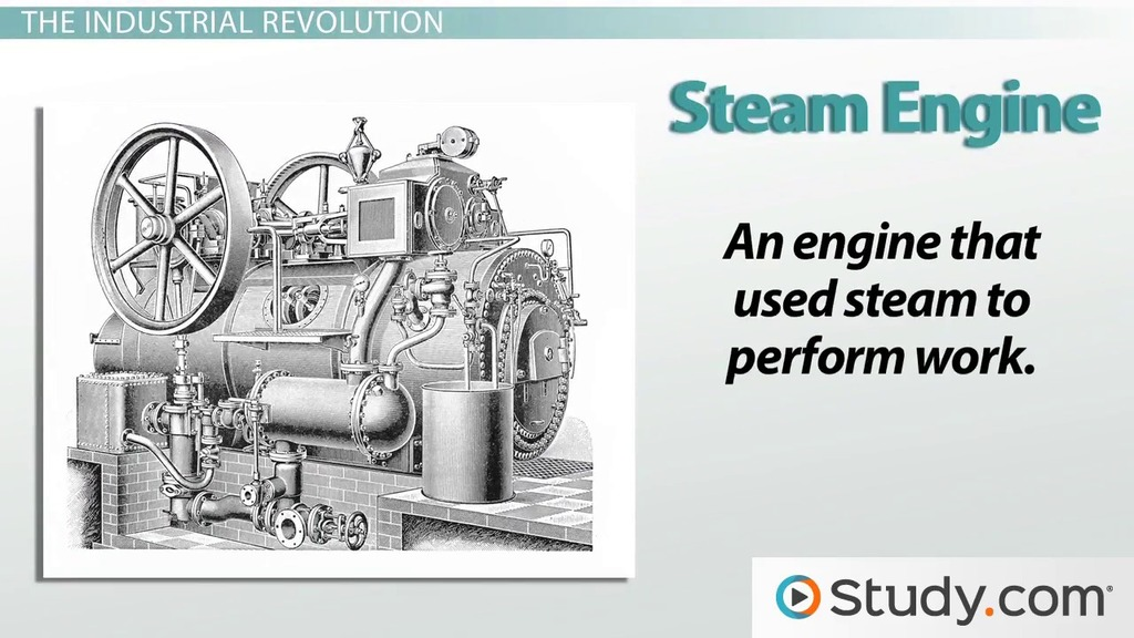 Steam engine industrial revolution essay