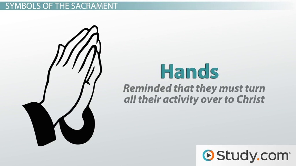 The 7 catholic sacraments definition history video lesson the anointing of the sick definition history symbols negle Image collections