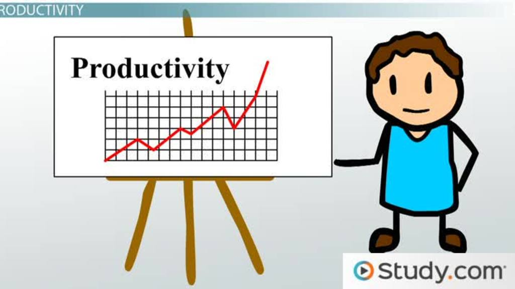 The Processes Of Production And Improving Productivity Video Amp Lesson Transcript Study Com
