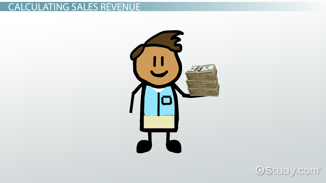 How to Calculate Sales Revenue: Definition & Formula - Video ...