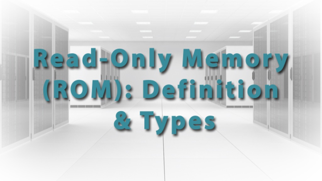What Is Random-Access Memory (RAM)? - Definition & History - Video ...