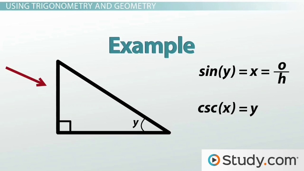 trigonometry and the pythagorean theorem video lesson  trigonometry and the pythagorean theorem video lesson transcript com