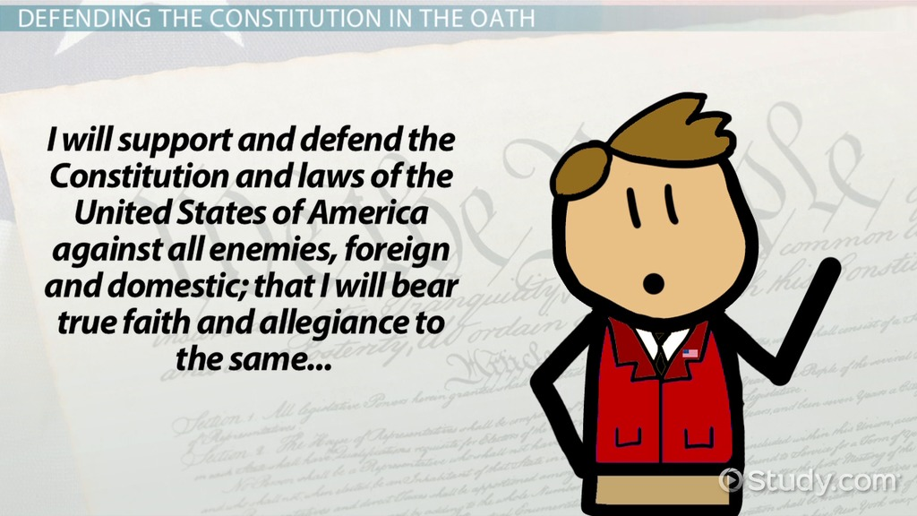 the meaning of the us oath of allegiance