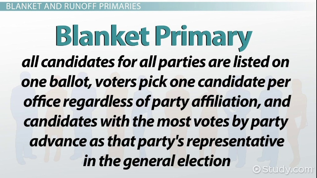 types of elections  primary  general  u0026 special