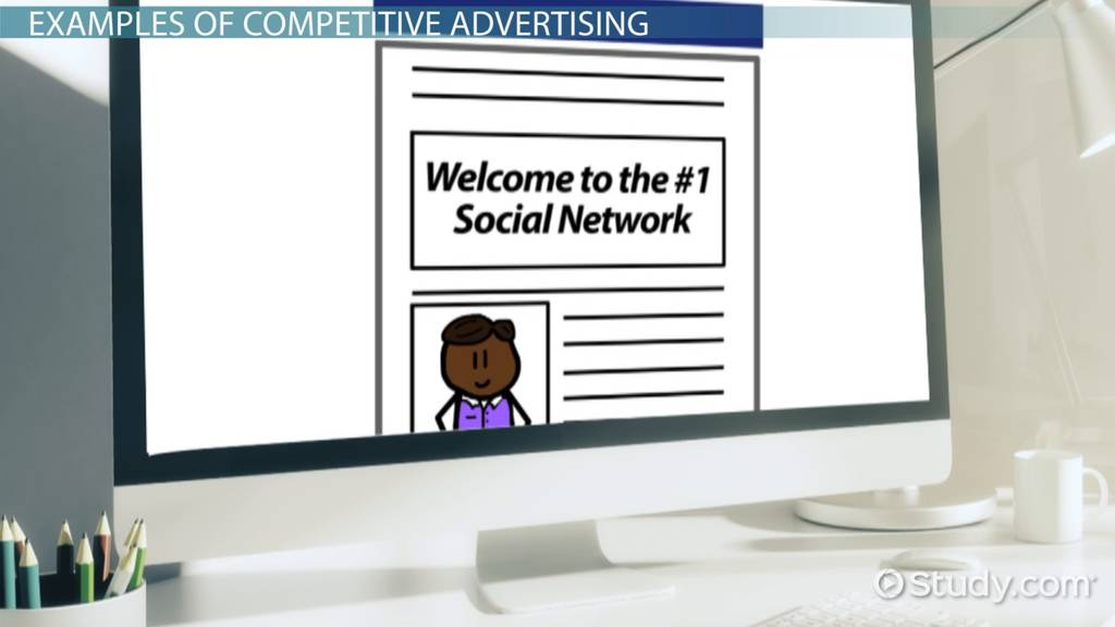 Competitive Advertising  Definition
