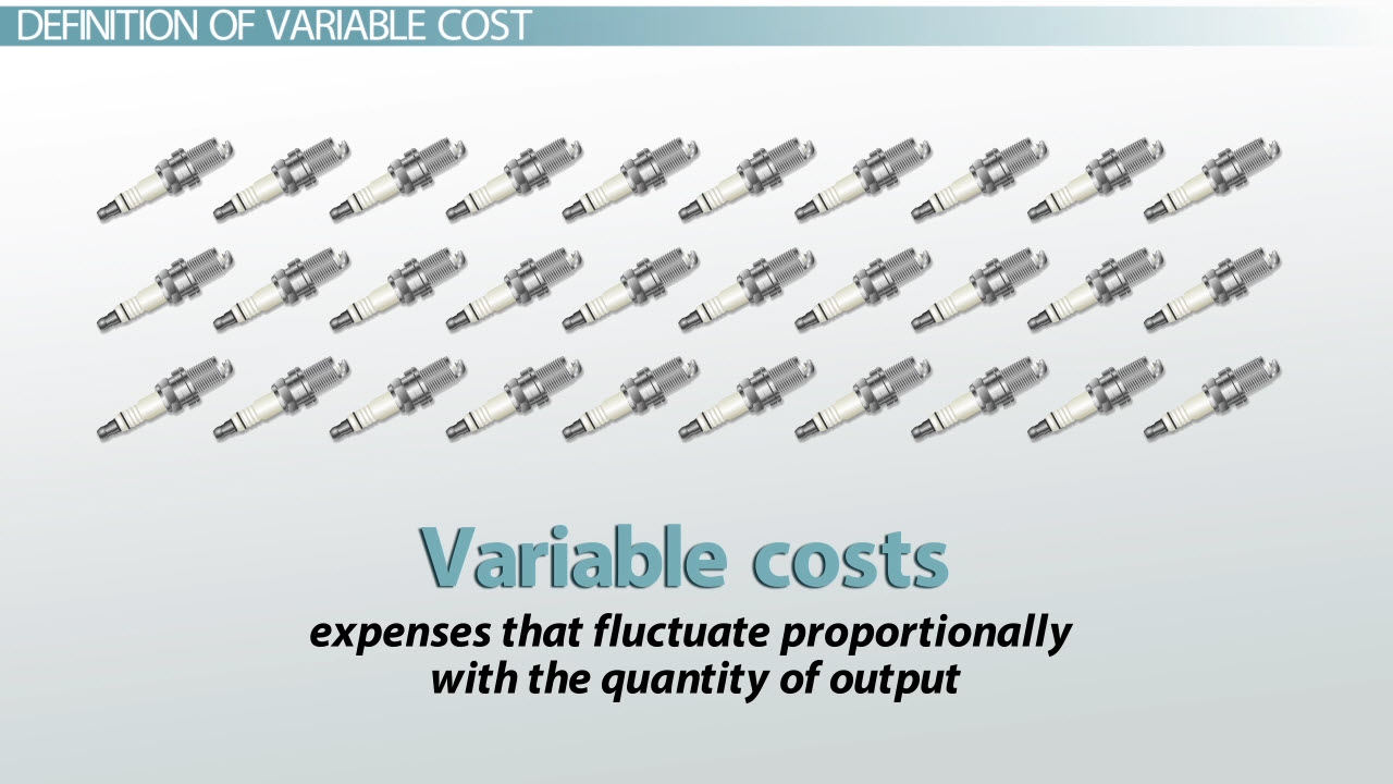 Variable Cost: Definition, Formula & Examples - Video & Lesson ...