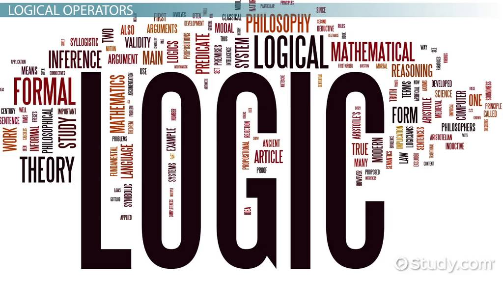 Symbolic Logic Definition Examples Video Lesson Transcript