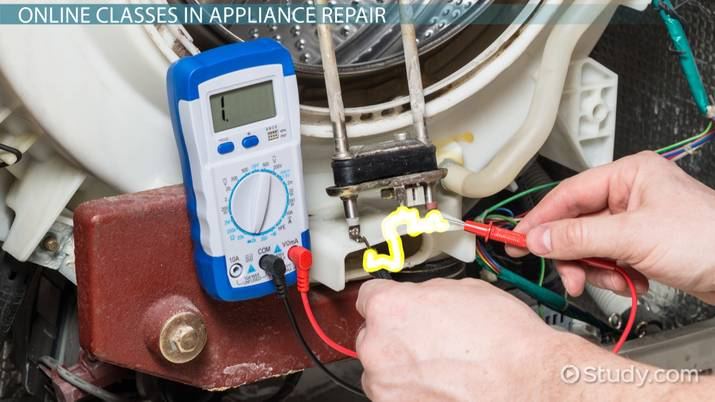 online appliance repair classes courses and training
