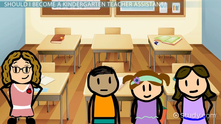 how to become a kindergarten teacher assistant: career guide