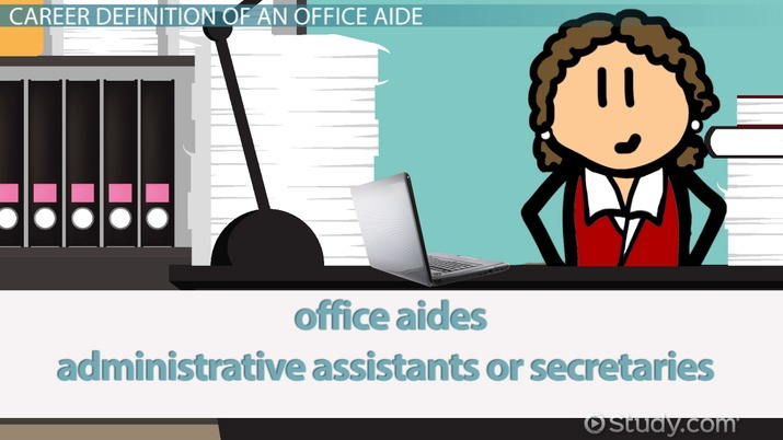 Office Aide: Job Description & Career Requirements