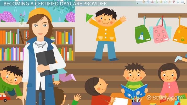 be a certified daycare provider: certification and career information