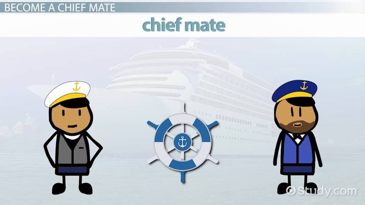 Become A Chief Mate Step By Step Career Guide