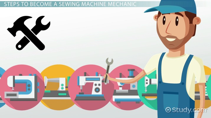 How To Become A Sewing Machine Mechanic Career Roadmap Cool Sewing Machine Repair Course
