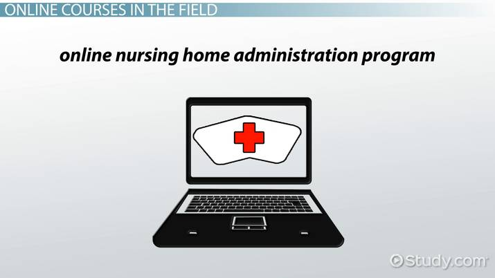 Online Nursing Home Administrator Course And Certification Information