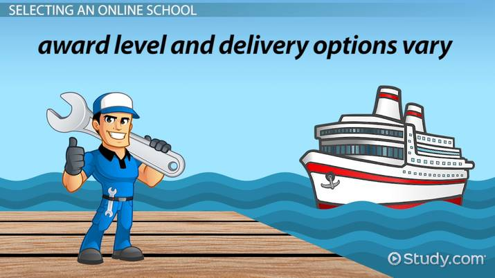 Online Schools for Marine Mechanic Technician How to Choose