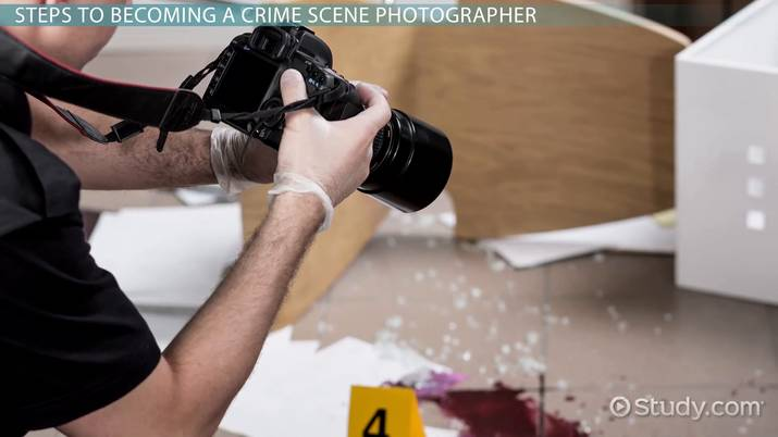 how to become a crime scene photographer