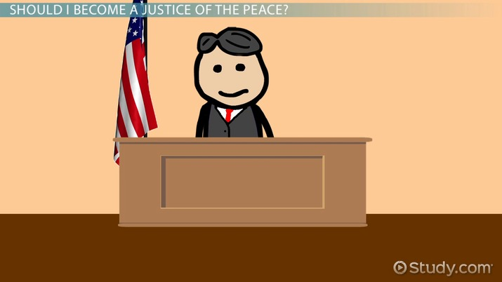 become a justice of the peace education and career roadmap