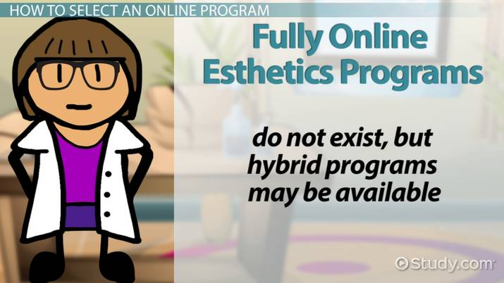 accredited esthetics schools online with career education details