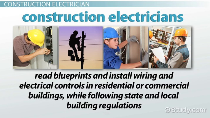 how to become a construction electrician education and career roadmap rh study com Residential Wiring For Dummies Residential Wiring Symbols