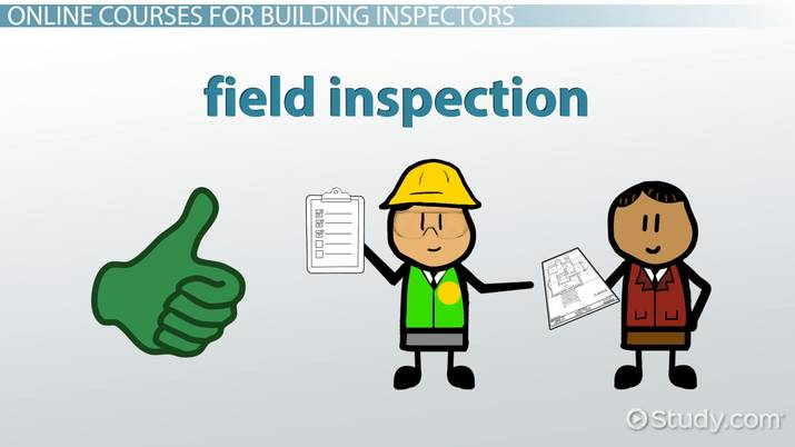 online building inspector classes, courses and training programs