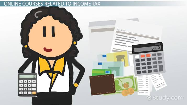 Online Income Tax Courses And Training