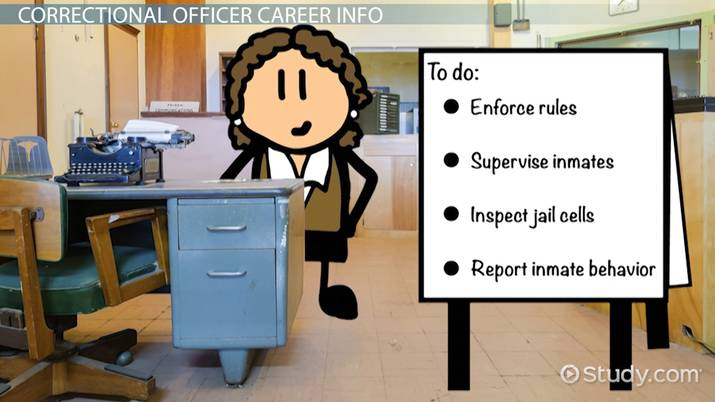 how to become a correctional officer