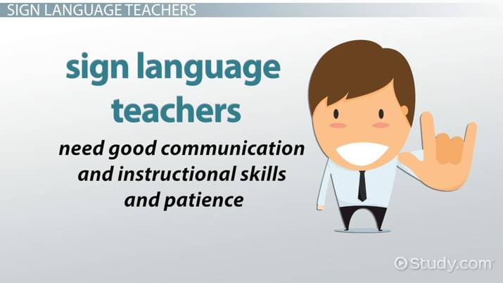 Certification American Sign Language Teachers Association - mandegar ...