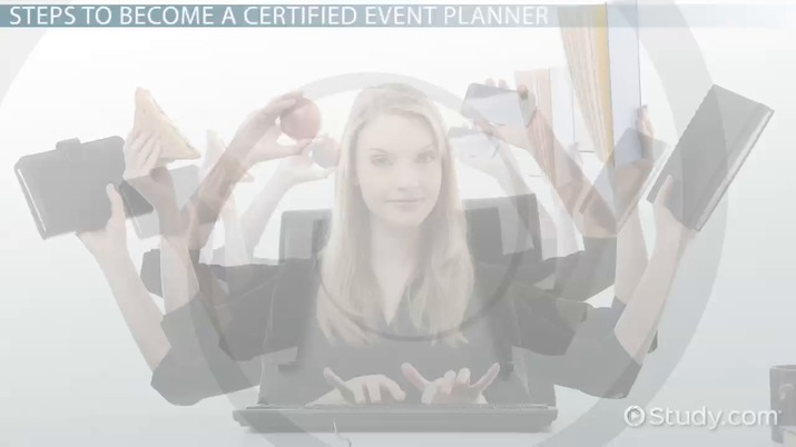 how to become a certified event planner