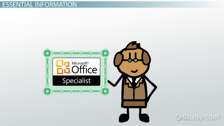 Microsoft Office Specialist: How Do I Become Certified?