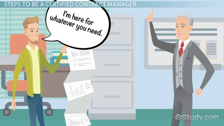 how to become a certified contract manager