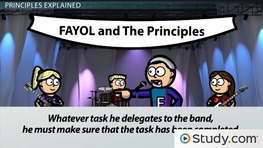 Henri Fayol's Management Principles: Managing Departmental Task Organization