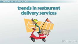 Trends in Restaurant Delivery Services