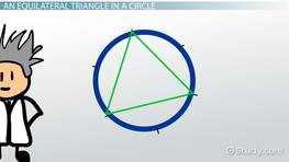 Constructing Equilateral Triangles, Squares, and Regular Hexagons Inscribed in Circles
