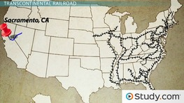 Transcontinental Railroad, Homestead Act and Women's Suffrage