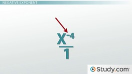 How to Define a Zero and Negative Exponent
