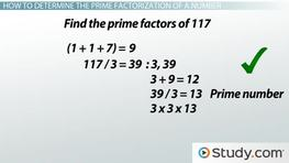 How to Find the Prime Factorization of a Number