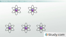 Naming Ionic Compounds: Simple Binary, Transition Metal & Polyatomic Ion Compounds
