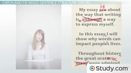 Sentence Structure: Identify and Avoid 'Mixed Structure' Sentences