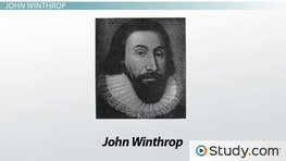 Early American Writers: John Smith, John Winthrop & Roger Williams