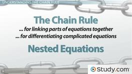 Using the Chain Rule to Differentiate Complex Functions