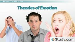 Theories of Emotion: James-Lange, Cannon-Bard, Two-Factor & Facial Feedback Hypothesis