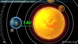 Astronomical Units & Light Years: Definition & Examples