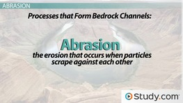Bedrock Channels: Formation & Process